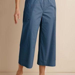 Soft Surroundings Seams Easy Crop Capri Pants XL